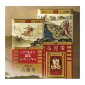 Rễ Lương Sâm Hàn Quốc 40PCS 300g 24 Củ