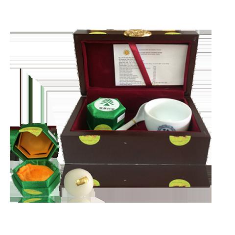 An cung rùa vàng hộp 1 viên - Sâm House